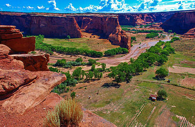 Photograph - Canyon De Chelly From Above by Dany Lison