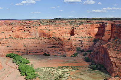 Canyon De Chelly Near White House Ruins Art Print