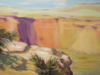 Robert Martin Painting - Canyon De Chelly by Robert Martin