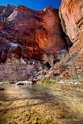 Photograph - Canyon Glow by Christopher Holmes