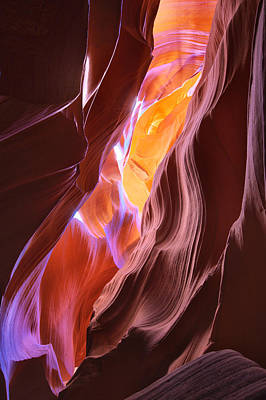 Photograph - Canyon In Pastel by Brad Brizek