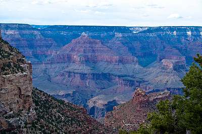 Canyon In View Art Print by Nickaleen Neff