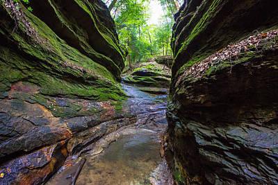 Southern Indiana Photograph - Canyon by Jackie Novak