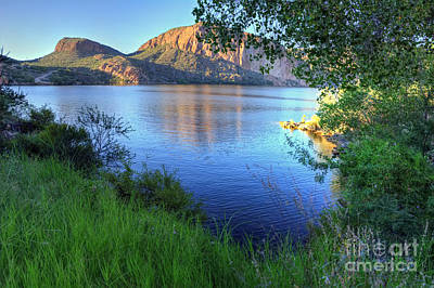 Apache Lake Photograph - Canyon Lake by Eddie Yerkish