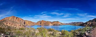 Giuseppe Cristiano - Canyon Lake panorama by Jo Ann Snover