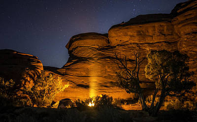 Ranch Photograph - Canyon Lands Camping by Michael J Bauer