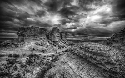 Canyon Light And Clouds Art Print by Garett Gabriel