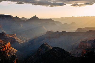 Jeka World Photograph - Canyon Light by Jeff Rose