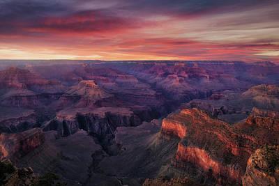 Desert Sunset Wall Art - Photograph - Canyon On Fire by Carlos F. Turienzo
