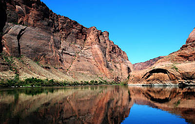Photograph - Canyon Reflections by Robert  Moss