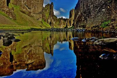 Photograph - Canyon Reflections by Sarah Pemberton