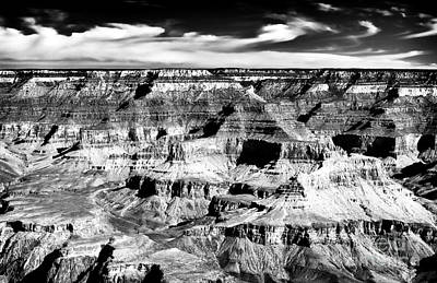 Of Artist Photograph - Canyon Shadows by John Rizzuto