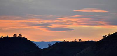 Photograph - Canyon Sunset by AJ  Schibig