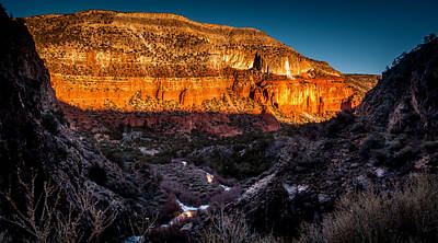 Photograph - Canyon Sunset by Chuck Summers