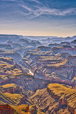 Grand Canyon Photograph - Canyon View At Dusk by Tod and Cynthia Grubbs