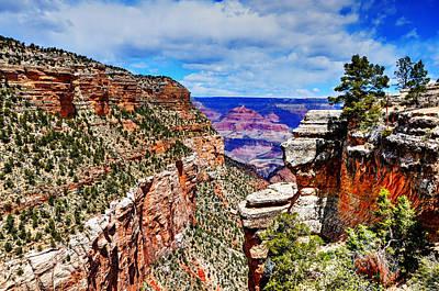 Photograph - Canyon Vista by Paul Mashburn