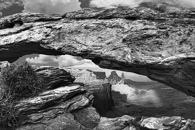 Target Project 62 Abstract - Canyonlands Arch by Aaron Kittredge