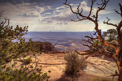 Photograph - Canyonlands Green River by Robert Melvin