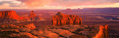 Canyonlands National Park Ut Usa Art Print by Panoramic Images
