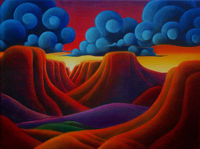 Mixed Media - Canyonlands by Richard Dennis