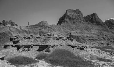 Photograph - Canyons Of The Badlands by Heidi Hermes