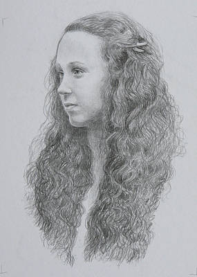Caoimhe Art Print by Tomas OMaoldomhnaigh