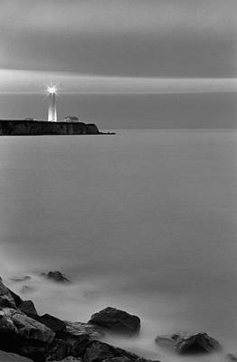 Photograph - Cap Aux Rosiers Lighthouse by Arkady Kunysz