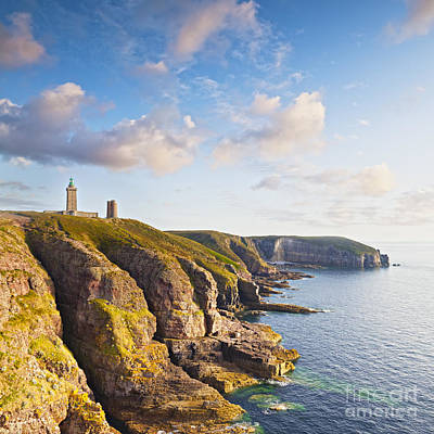 Photograph - Cap Frehel Brittany France Square by Colin and Linda McKie
