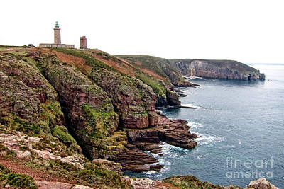 Cap Frehel In Brittany France Art Print by Olivier Le Queinec