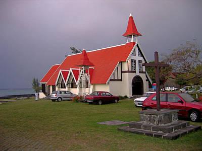 Photograph - Cap Malheureux Catholic Church by Nop Briex