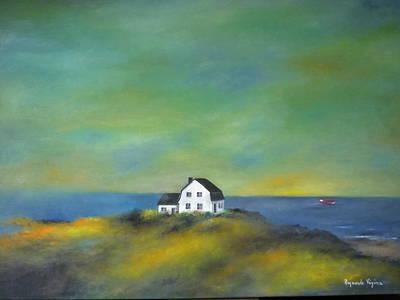 Vezina Painting - Cap Sur La Mer by Raymonde Vezina
