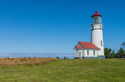 Photograph - Cape Blanco Lighthouse by James Hammond