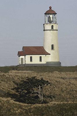Photograph - Cape Blanco Lighthouse by Jeanne Hoadley