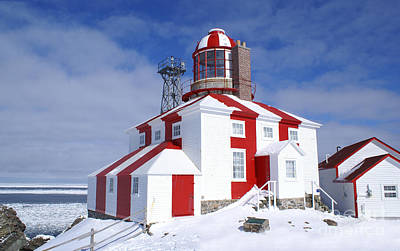 Cape Bonavista Lighthouse Art Print
