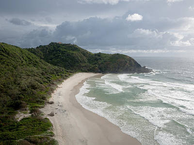 Byron Bay Photograph - Cape Byron And The Byron Lighthouse by Rob Huntley