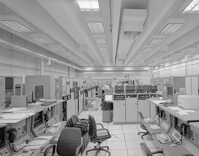 Cape Canaveral Computers Art Print