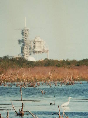 Photograph - Cape Canaveral Launch Pad by Belinda Lee