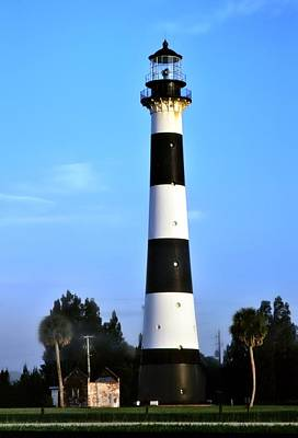 Photograph - Cape Canaveral Light by Bradford Martin