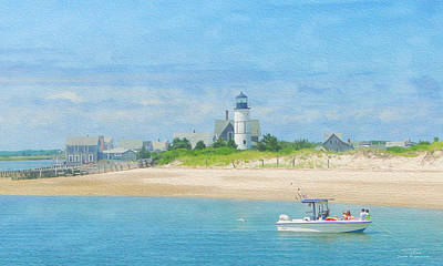 Beach House Drawing - Cape Cod 03 by Joost Hogervorst