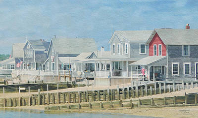 Cape Cod 04 Art Print by Joost Hogervorst