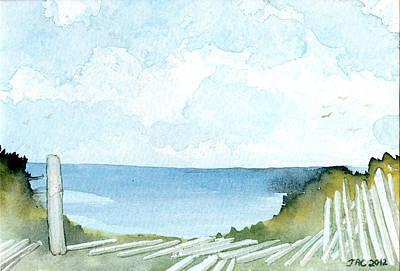 Cape Cod Bay Study #1 Art Print
