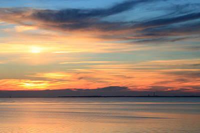 Cape Cod Bay Sunset Art Print