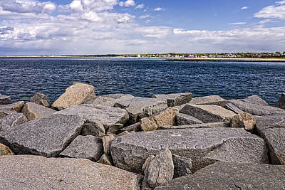 Photograph - Cape Cod Canal - Jetty To Town Neck Beach by Frank Winters