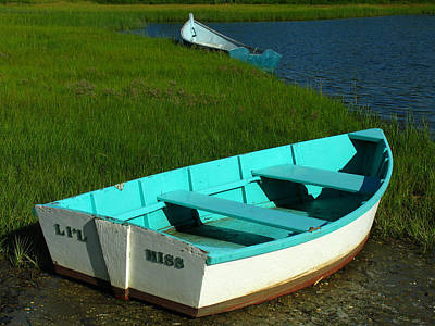 Photograph - Cape Cod Dinghies by Juergen Roth