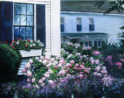 Painting - Cape Cod Flowers by William Brody