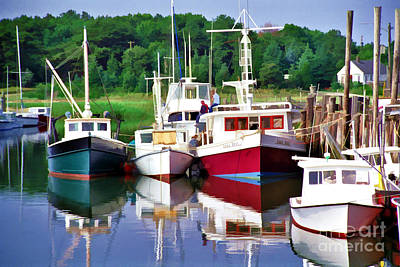 Photograph - Cape Cod Harbor  by Allen Beatty