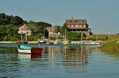Photograph - Quissett Inner Harbor by Gerald Hiam