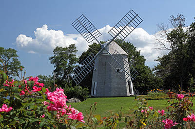 Photograph - Cape Cod Jonathan Young Windmill by Juergen Roth
