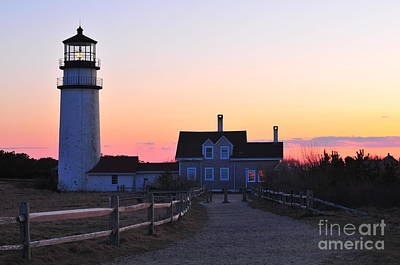 Cape Cod Light Art Print