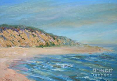 Cape Cod Painting - Cape Cod National Seashore by Pamela Parsons